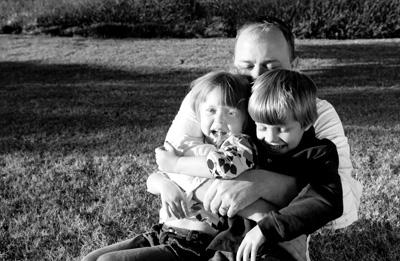 Kris and kids
