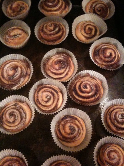Cinnamon rolls wp