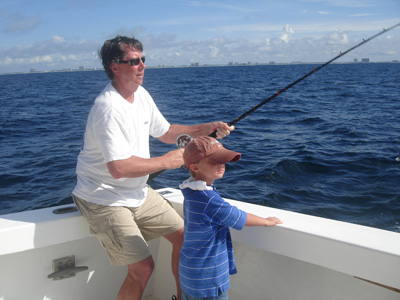 Dad - fishing PCB