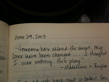 journal entry june 03 wp