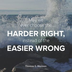 Choose hard